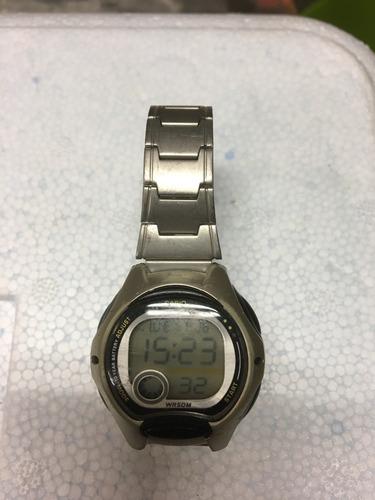 Relógio Casio Illuminator Wr50 Lw-200 Leia Descrição