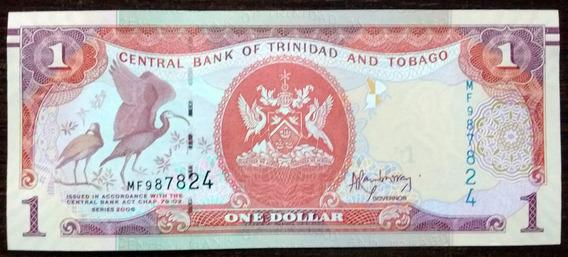 Billete 1 Dólar Trinidad Y Tobago 2006 Sin Circular