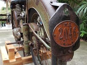 Bsa Bantam D1 Lucas 1952 Único Dono Harley Moto Antiga