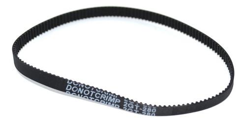 Imagem 1 de 3 de Correia Gt2 6mm Fechada Com 100 Dentes
