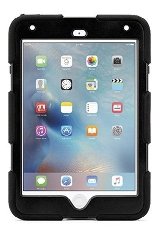 Funda Para iPad Mini 4 Griffin Survivor All-terrain - Black