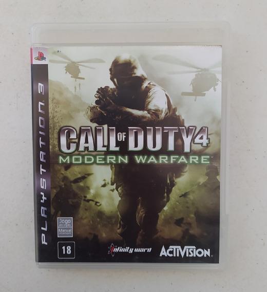 Jogo Call Of Duty Modern Warfare 4 - Ps3 - Original - Mw4