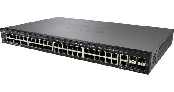 Switch Cisco Sf250-48-k9-ar 10/100 Rack Palermo Envio Gratis