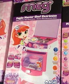 Fogão Masterchef Eletrônico Magic Toys