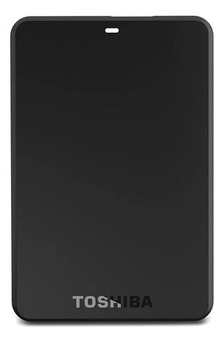 Disco rígido externo Toshiba Canvio Basics HDTB110XK3BA 1TB preto