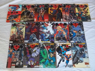 Hq Gibi Lote C/ 32 Batman E Superman Especial Dc K62