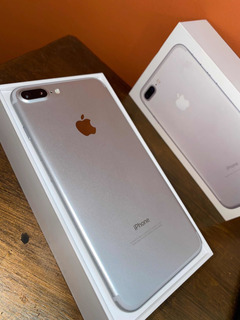 Apple iPhone 7 Plus 128 Gb Plata Con Fundas Tech21 Y Apple