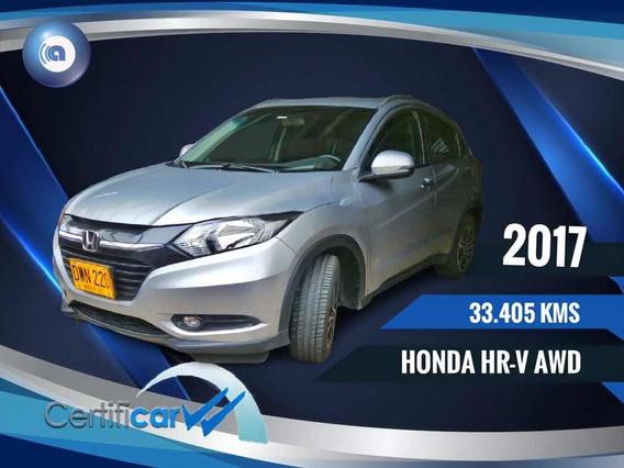 Honda Hr-v Awb Financio 100%