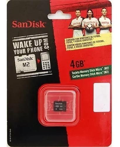 Cartão De Memória 4 Gb Sandisk M2