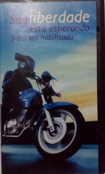 Vhs Pilotagem De Motocicleta. Original.
