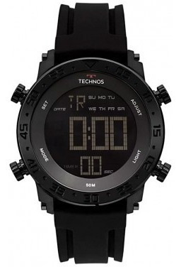 Relógio Technos Masculino Digi-ana Preto Bjk006aa/4p