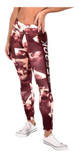 Pantalon Reebok Mujer Bs3692 Vino