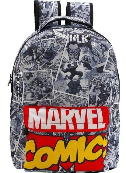 Mochila Marvel Comics De Costas - Xeryus - 8095
