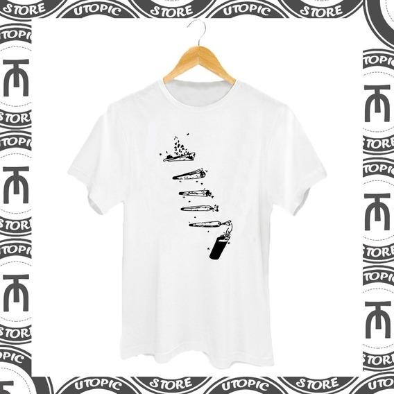 Camiseta Bolando - Back - Camiseta Maconha - Cannabis - Vou Apertar - 4i20