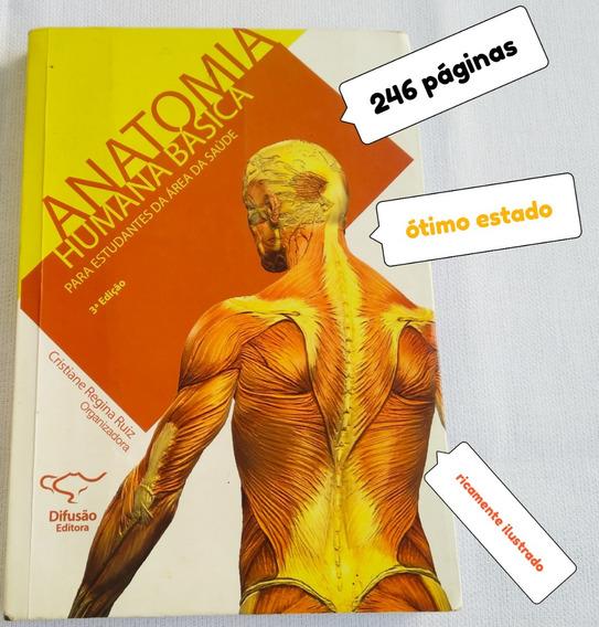 Livro Usado Anatomia Humana Basica Area Da Saude Veja Fotos