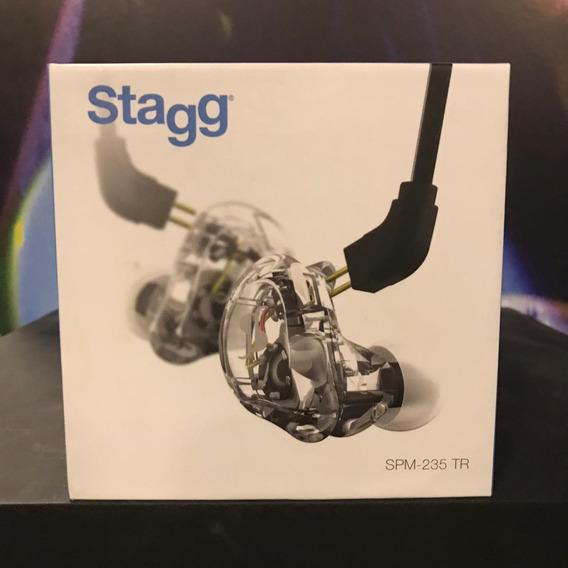 Fone De Ouvido In-ear Stagg Spm235 Tr , Novo, Somos Loja!