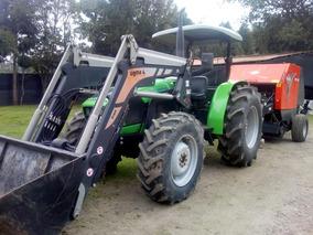 Tractor Y Enfardadora