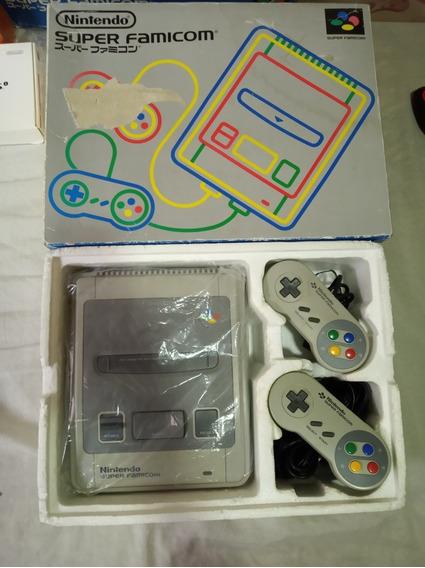 Super Famicom Na Caixa