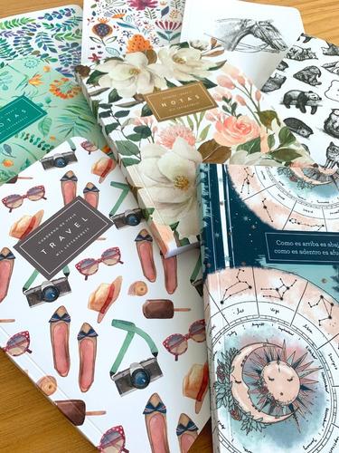 Promo Abril - 8 Cuadernos Rayados A5 - Mil Letterpress