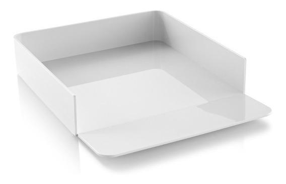 Bandeja Para Papel Blanco