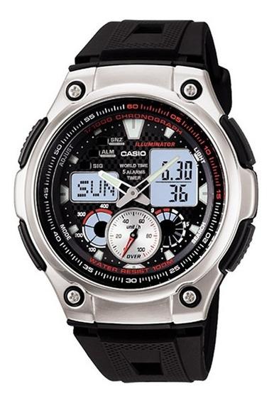 Relógio Casio Standard Masculino Anadigi Aq-190w-1avdf