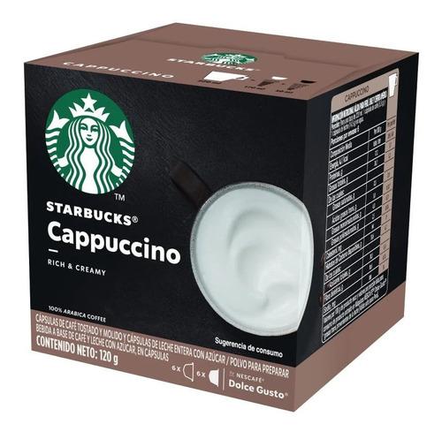 Capsulas Cafe Starbucks Cappuccino Dolce Gusto Nescafe