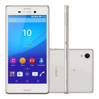 Sony Xperia M4 Aqua E2306 16gb 2gb Ram 13mp Branco Vitrine 1