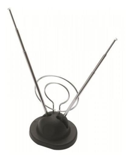 Antena Interna Parabólica Vhf/uhf/fm Mxt-002a