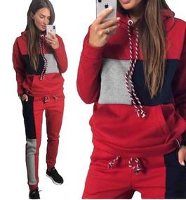 43d005ec4 Buzo Hugo Gatti - Conjuntos Deportivos Mujer Rojo en Mercado Libre ...
