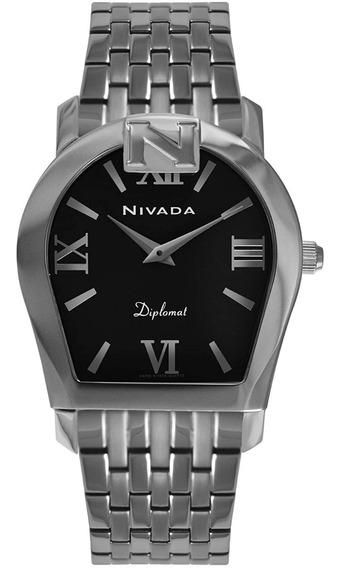 Reloj Nivada Swiss Diplomat Para Hombre Ng4233gacnr