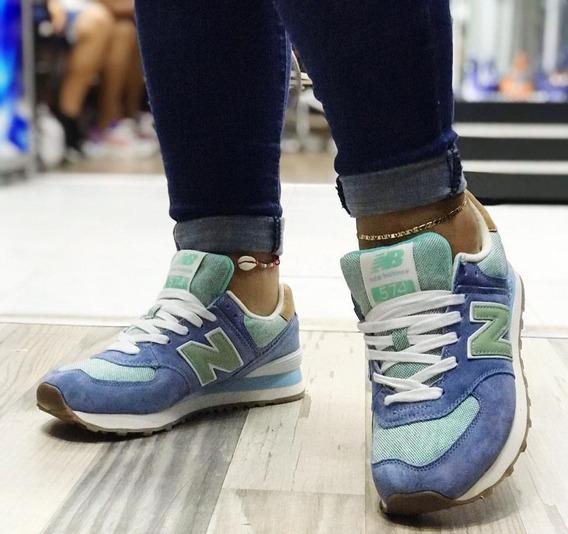 Tenis Zapatillas New Balance 574 Mujer