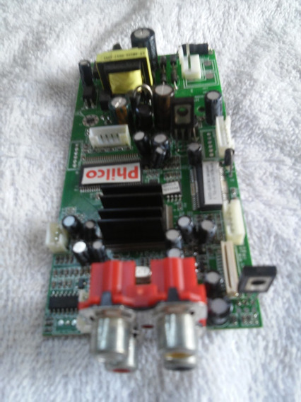 Placa Logica Para Dvd Philco Ph1551