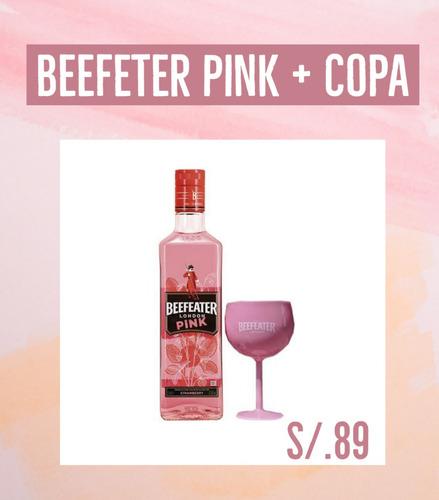 Gin Beefeter Pink + Copa Beefeter Pink