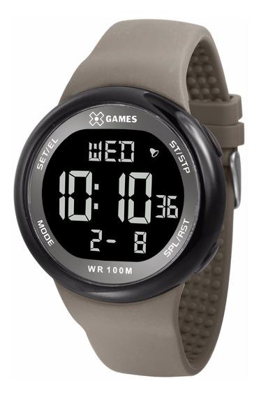 Relógio X-games Masculino Digital Xmppd439 Negativo Oferta