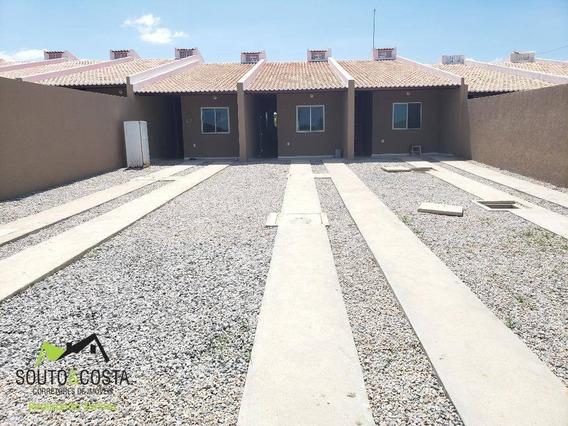 Casa De Repasse À Venda, 74 M² Por R$ 32.000 - Barrocão - Itaitinga/ce - Ca0463