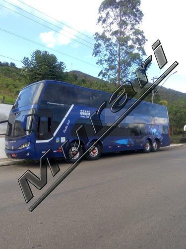 Imagem 1 de 9 de Busscar Dd 4 Eixos Scania K-420 2006 56 Lug Mt Novo  Ref 580