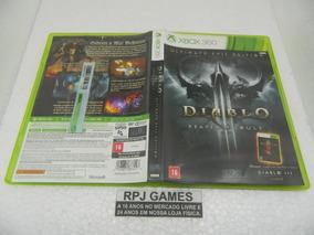 Diablo 3 Reaper Souls Original Midia Fisica Caixa Xbox 360