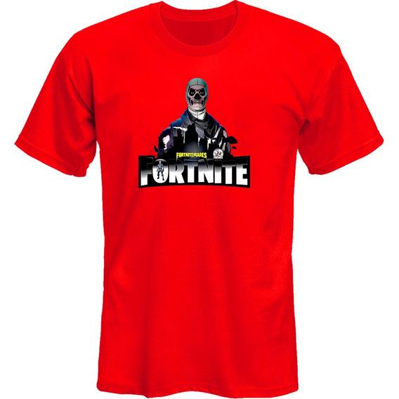 Remeras Fortnite Skull Video Juegos *mr Korneforos*