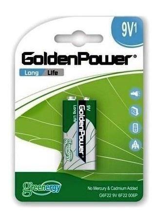Pilha Goldenpower 9v1 6f22