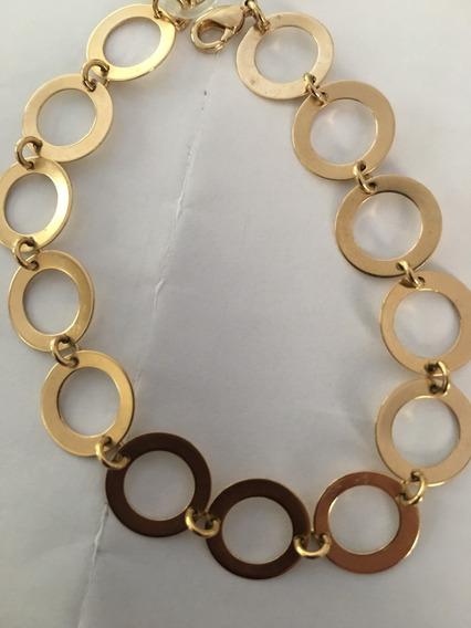 Pulseira Rings Banhada A Ouro