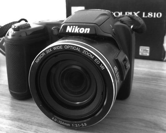 Nikon Coolpix L810+ Vários Brindes