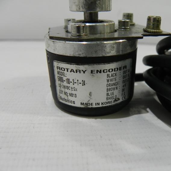 Encoder Incremental Rotativo E40s6 100-2-t-24 Seminovo