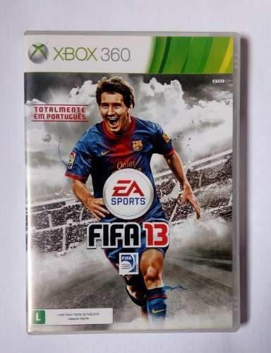Fifa 13 Messi Futebol Soccer Xbox 360