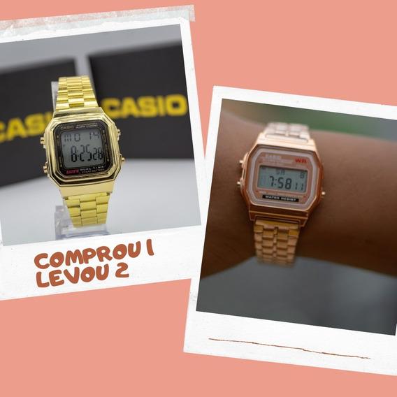Relógio Cassio Retro Todas As Cores Comprou 1 Levou Outro