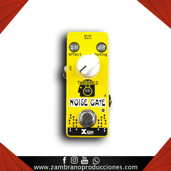 Pedal De Guitarra Xvive V11 Noise Gate