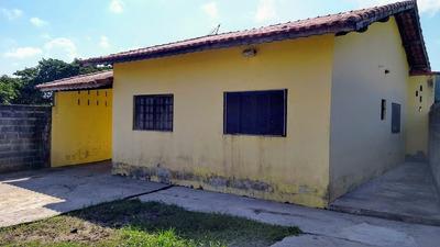 Casa Com 2 Dormitórios Mais Edicula Lado Praia Itanhaém Sp