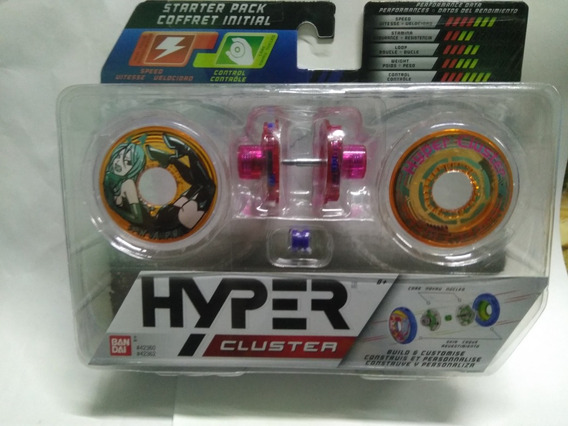 Yoyos Hyper Cluster Construye Y Personaliza De Bandai