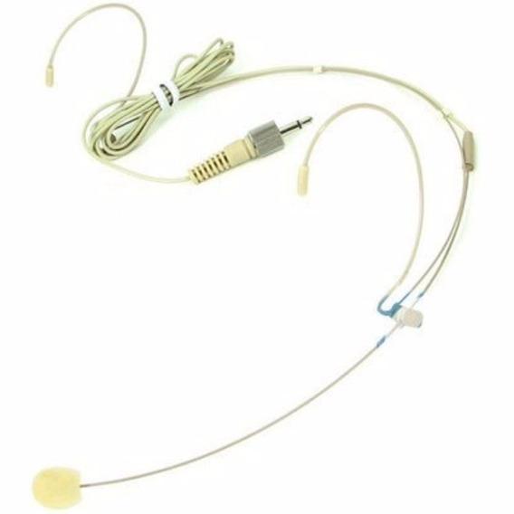 Microfone Cor Da Pele Karsect Ht3a Cabeça Headset P2 C/ Rosca - Nota Fiscal E Envio No Mesmo Dia!