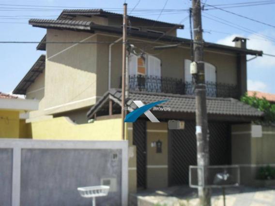 Casa Com 4 Dormitórios À Venda, 300 M² Por R$ 595.000,00 - Jardim Santa Luzia (santa Luzia) - Ribeirão Pires/sp - Ca0724