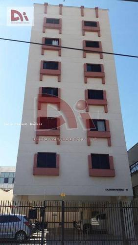 Apartamento Com 2 Dormitórios À Venda, 60 M² Por R$ 220.000,00 - Centro - Taubaté/sp - Ap0233